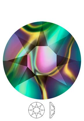 www.sayila.fr - SWAROVSKI ELEMENTS cabochons 2078 Xirius Rose Hotfix circulaire SS34 7,1mm