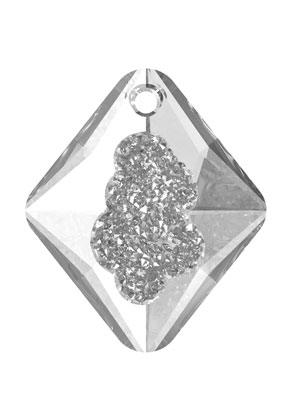 www.sayila.nl - SWAROVSKI ELEMENTS hanger 6926 Growing Crystal Rhombus 26x22x8mm