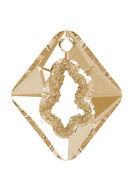 www.sayila-perles.be - SWAROVSKI ELEMENTS pendentif 6926 Growing Crystal Rhombus 36x31x10,5mm - SW3081