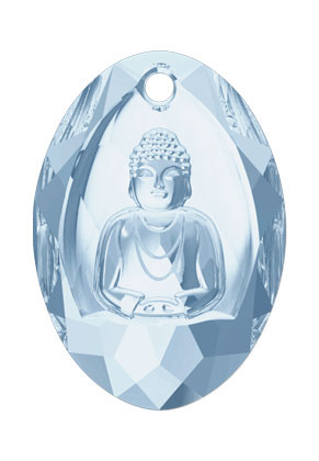 www.sayila.nl - SWAROVSKI ELEMENTS hanger 6871 Buddha Pendant 28x19,8mm