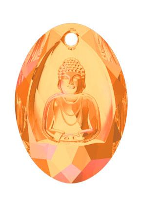 www.sayila.com - SWAROVSKI ELEMENTS pendant 6871 Buddha Pendant 28x19,8mm