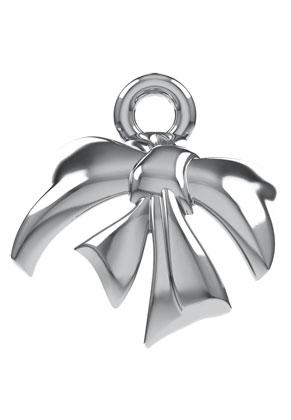 www.sayila.nl - SWAROVSKI ELEMENTS metalen hanger 58M001 Metal Bow met pin voor 5818 Half-Drilled Crystal Pearl 8mm