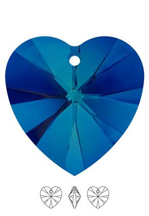 www.sayila.com - SWAROVSKI ELEMENTS pendant/charm 6228 XILION Heart Pendant 10,3x10mm