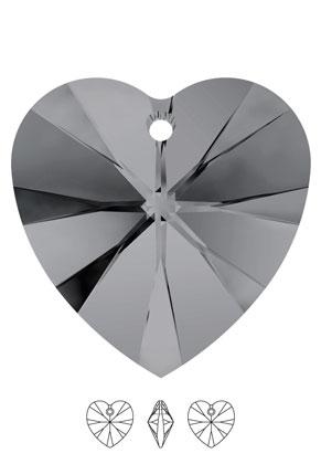 www.sayila.nl - SWAROVSKI ELEMENTS hanger/bedel 6228 XILION Heart Pendant hartje 10,3x10mm