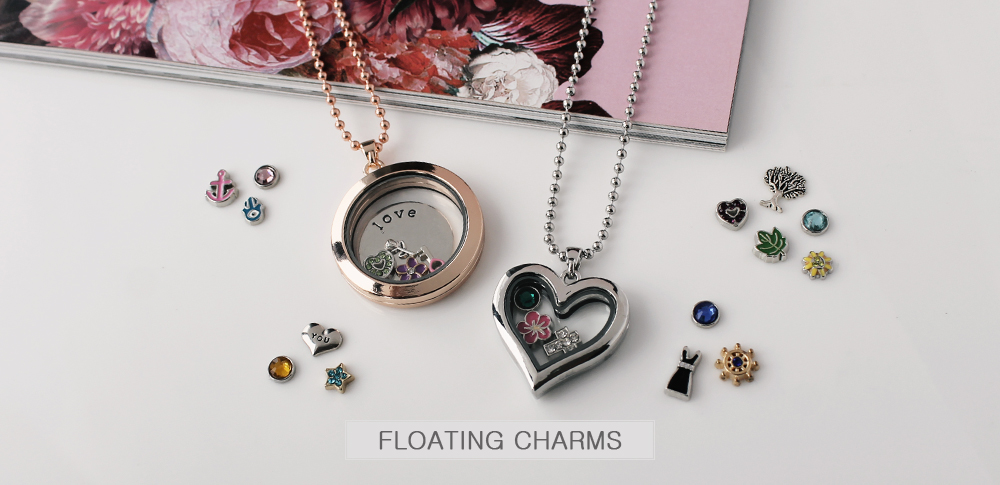 www.sayila.be - Floating charms
