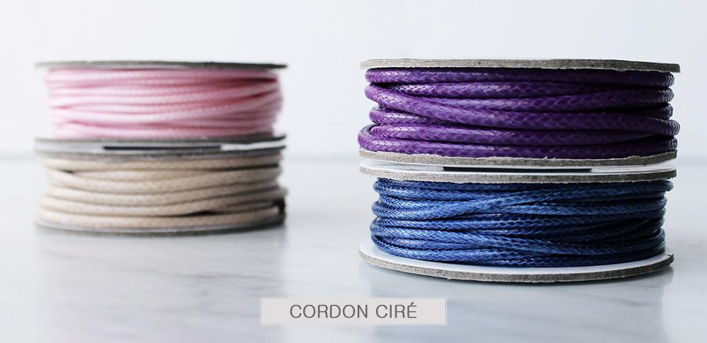 www.sayila.fr - Cordon ciré