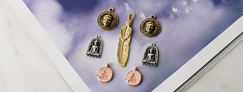 New Owls And Buddha Pendants