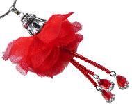 www.sayila.nl - Sayila Mini Project Red Rose Pendant
