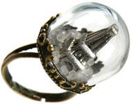 www.sayila.nl - Sayila Mini Project Glass dome Ring