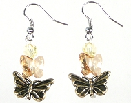 www.sayila.com - Sayila Mini Project Butterfly Earrings