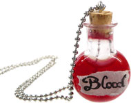 www.sayila.fr - Sayila Mini-Projet 'Bloody' Halloween Necklace