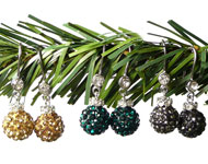 www.sayila-perles.be - Sayila Mini-Projet Christmas Earhooks