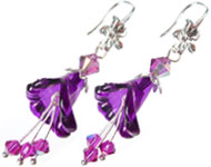 www.sayila-perlen.de - Sayila Schmuckprojekt Floral Earrings