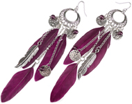 www.sayila.nl - Sayila Sieradenproject Feather Earrings