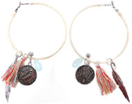 www.sayila-perlen.de - Sayila Schmuckprojekt Boho Tassel Earrings