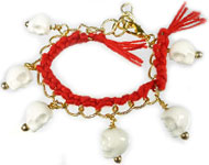 www.sayila.nl - Sayila Sieradenproject Red Braid Bracelet