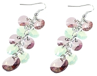 www.sayila-perlen.de - Sayila Schmuckprojekt XILION Pendant earrings