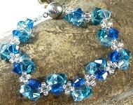 www.sayila.nl - Sayila Sieradenproject Bracelet Blue Ocean