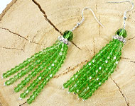 www.sayila-perlen.de - Sayila Schmuckprojekt DIY Tassel Earrings