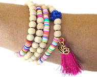 www.sayila.fr - Sayila Projet Bijoux Colourful Disc Jewelry