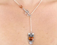 www.sayila.nl - Sayila Sieradenproject Owl Necklace