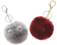 www.sayila-perlen.de - Schlüsselanhänger mit Flusenkugel