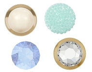 www.sayila.com - New SWAROVSKI ELEMENTS hotfix flat backs and cabochons
