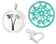 www.sayila.com - New perfume lockets and textile dreamcatchers