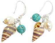 www.sayila-perlen.de - Sayila Schmuckprojekt Beach Earrings