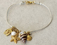 www.sayila.com - Sayila Jewelry Project Summer Anklet