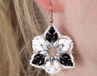 www.sayila-perlen.de - Sayila Schmuckprojekt GemDuo Earrings