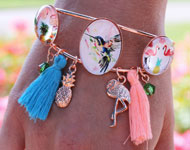 www.sayila.nl - Sayila Sieradenproject Tropical Bracelet