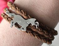 www.sayila.com - Sayila Jewelry Project Horse Bracelet