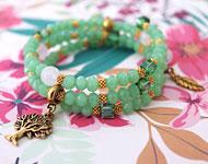 www.sayila.com - Sayila Jewelry Project Spiral Tree Bracelet