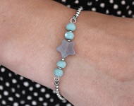 www.sayila.nl - Sayila Sieradenproject Natural Star Bracelet