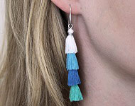 www.sayila.nl - Sayila Sieradenproject Ibiza Style Earrings