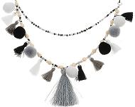 www.sayila-perlen.de - Neuen Trend Schmuck mit Quasten und mehr