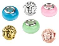 www.sayila-perlen.de - Neue Großloch-Still und Buddha Perlen