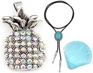 www.sayila-perlen.de - Neue bolo tie Halsketten und mehr Trend Artikel