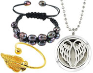 www.sayila.com - New perfume lockets and other jewelry