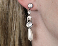 www.sayila-perlen.de - Sayila Schmuckprojekt Dazzling Earrings