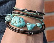 www.sayila.com - Sayila Jewelry Project Chunky Bracelet