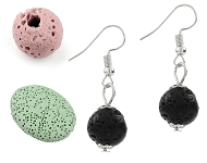 www.sayila.com - New lava rock beads and various jewelry