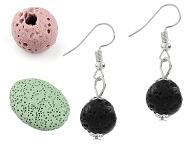 www.sayila-perlen.de - Neue Lavagestein Perlen und verschiedene Schmuck