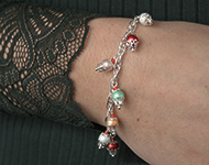 www.sayila.com - Sayila Jewelry Project Cupcake Bracelet