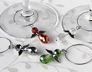 www.sayila.com - Sayila Jewelry Project Christmas Wine charms
