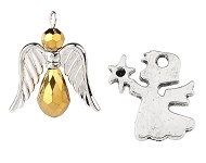 www.sayila-perlen.de - Neue Engel Anhänger