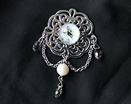 www.sayila.com - Sayila Jewelry Project Angel Brooch