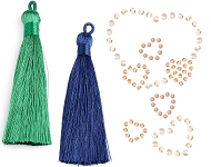 www.sayila.com - New tassels and SWAROVSKI ELEMENTS transfers