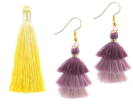 www.sayila.com - New tassels and jewelry with tassels